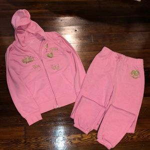 Girls The Children's place sweatpant suit like new